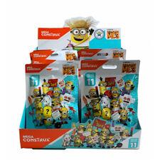 Display mit 24 Tüten Mega Bloks Minions Serie 11 Mini Sammelfiguren
