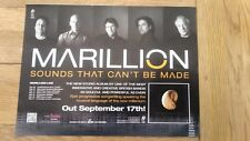 MARILLION Sounds... 2012 UK magazine ADVERT/Poster/clipping 11x8 inches