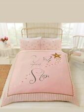Rapport Wish upon a star pink and gold Duvet Set Single CHEAPEST ON EBAY