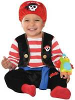 Toddler Baby Buccaneer Pirate New Fancy Dress Caribbean Party Halloween Costume