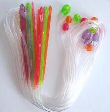 "47"" Set of 12 Acrylic Afghan Tunisian Crochet Needles Hook C-N 3-10mm Hooks"