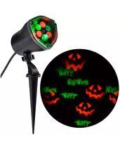 Spooky LED Chasing Happy Halloween Outdoor Strobe Spotlight Energy Efficient