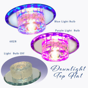 LED Downlight Light Top Hat Bright No Glare Colorful