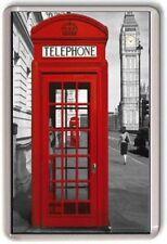 London Red Phone Box Fridge Magnet 03 Big Ben