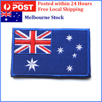 1 X Australian Flag Patch, Sew On, Stitch On, Glue On 8x5cm