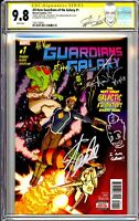 ALL-NEW GUARDIANS OF THE GALAXY #1 CGC SS 9.8 STAN LEE AND AARON KUDER SIGNED