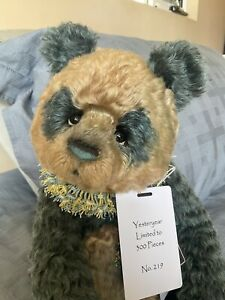 Charlie Bears Isabelle 2021 Yesteryear Teddy Ltd ed 219/300 New And gorgeous!!