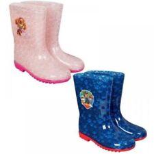 Calzado de niña botas de agua azul de color principal azul