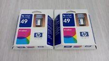 Kit 2 cartuccia HP 51649AE inchiostro originale colore Deskjet 350/600/610/640