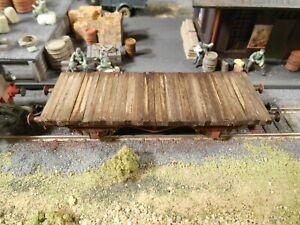 HO Roco Minitanks Freight Railway Car Custom Detailed Weathered #2869