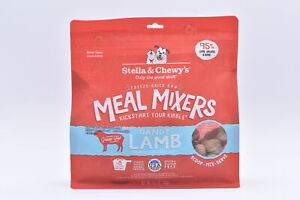 Stella & Chewy's Freeze Dried Meal Mixers Dandy Lamb, 3.5 oz, EXP: 06/22