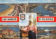B53426 Les Sables D'Olonne boats bateaux costume de fete traditional  france