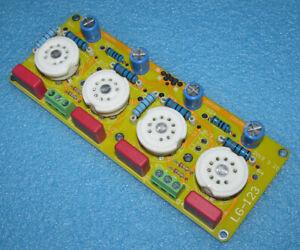 6P14 Tube Push-Pull Amplifier Board LG123 Preamplifier Headphone Amplifier Board