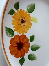 CAPILANO CHANTICLEER COBRIDGE SIMPSONS POTTERY OVAL SERVING PLATER MEAT FISH