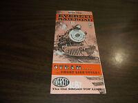 1967 EVERETT RAILROAD COMPANY PUBLIC TIMETABLE