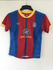 Crystal Palace FC Home Shirt 2012 / 13 - Size SB (Small Boys)