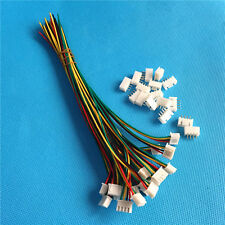 JST 2.5mm XH 4-Pin Female Connector Plug with Wire and male connector x 10 sets