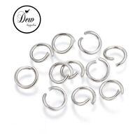 100 x 10mm stainless steel jump rings connectors jewellery findings
