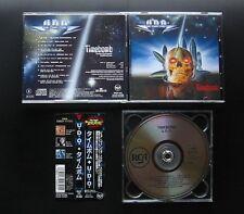 U.D.O. Timebomb 1991 JAPAN 1ST CD w/OBI BVCP-122 OOP Udo Dirkschneider ACCEPT