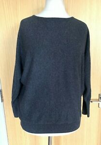 Mint Velvet Ladies Jumper Top 12 M Cashmere Blend Casual Winter Punched Out