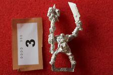 Games Workshop WARHAMMER ORCHI SELVAGGI orruks Sciamano corpo Bit montato Figura Metallo