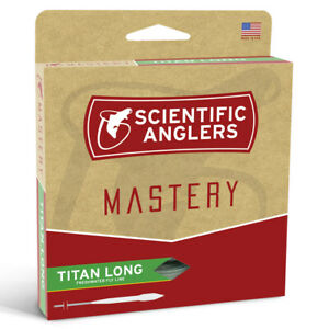 Scientific Anglers Mastery Titan Long Fly Line - ALL SIZES - ON SALE 40% OFF