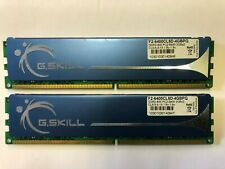 G.Skill 4GB DDR2 800 RAM (2X2GB) PC2-6400 Desktop Ram F2-6400CL5D-4GBPQ 5-5-5-15