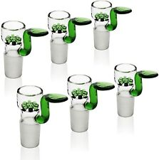 6-Pack Bong Bowl Joint 14mm Ash Catcher Glass bowl Pipes Tobacciana Hookahs US