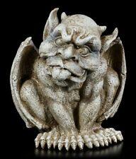 Gargoyle Gartenfigur - Streckt Zunge raus - Fantasy Gartendrache Deko Torwächter