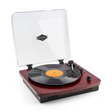 VINYL PLATTEN SPIELER STEREO LAUTSPRECHER BOXEN USB MP3 AUX MUSIK ANLAGE KIRSCHE