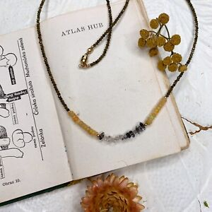 Opal 14K Gold Filled Handmade Sundance Garden Necklace