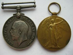 WWI pair to 82092 PTE J W BELTON Durham Light Infantry DLI