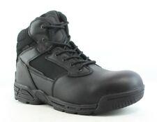 Magnum Para Hombre Stealth Force 6.0 Impermeable Cuero Negro Botas De Trabajo Y Seguridad