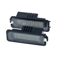 2Pcs 12V Led Number License Plate Light Lamps For Golf 4 5 6 7 Car License  W2B3