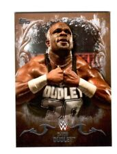WWE D-Von Dudley #10 2016 Topps Undisputed Bronze Parallel Card SN 90 of 99