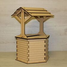 Wedding Card Box POST BOX Wishing Well Mdf Craft Kit Unpainted Parties