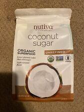 Nutiva Coconut Sugar 1 LB Bag