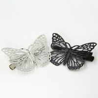 Fashion Hair Clip Hairpin Women Hollow Butterfly Claw Clamp  Accessories BB