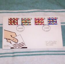 EUROPEAN ASSEMBLY ELECTIONS 9p 10.5p 11p 13p FDC 9 MAY 1979 MLO REDHILL FDI SHS