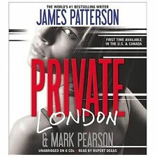 Private London by James Patterson and Mark Pearson (2013, CD, Unabridged)