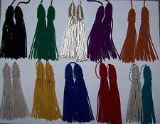 Bullion Wire Color Quilt Pillow Uniform Hat  Robe Tassels Embroidery Vestment