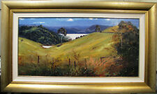 Australian Artist Ken Farrow's  original oil titled 'Sunlight on Baroon Pocket'