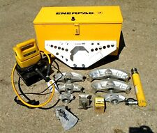 Enerpac Stb 101x 103058 12 To 2 One Shot Pipe Bender With Puj 1200b Pump
