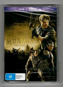 The Mummy Trilogy - The Mummy Returns - Tomb of The Dragon Emperor (DVD 3 Discs)