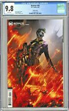 Batman #95 CGC 9.8 Variant Cover Edition Francesco Mattina Joker War Part One