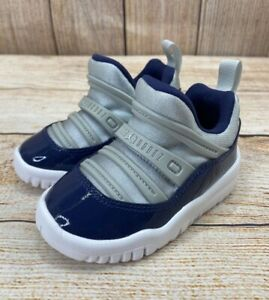"Jordan 11 Retro Little Flex TD Georgetown BQ7102 US Toddler""s Size 5C NEW"