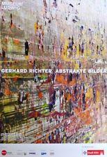 "GERHARD RICHTER - Ausstellungsoffset ""ABSTRAKTE BILDER"" Museum Ludwig 60 x 84 cm"