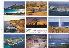 Western Australia Postcard - Views - Land of Contrast  AB1783