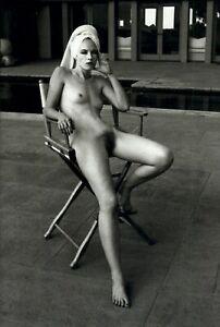 1987 Helmut Newton Nude Lourie Livingston Beverly Hills 1981 Art Photo Gravure