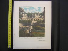 Paquebot COLOMBIE Menu CGT French Line Chateau Rigny Usse PLASSE 14/7/1936